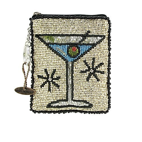 Mary Frances Beaded Coin Purse (Cocktail Hour)