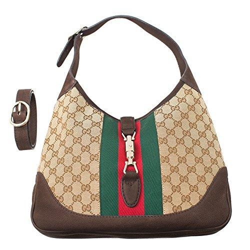 Gucci Jackie Medium Shoulder Bag – Beige-Cocoa
