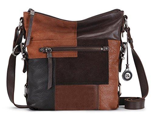The Sak Sanibel Cross Body Bag, Brown Patch, One Size