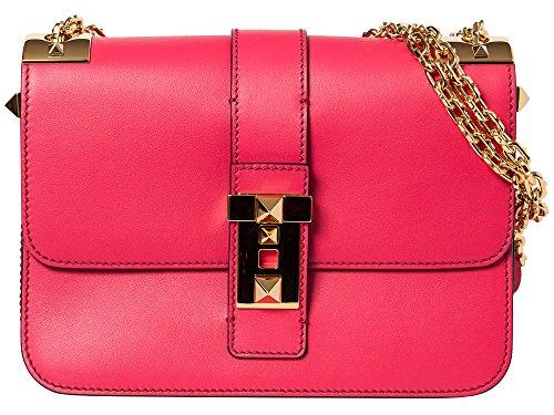 Valentino Fuchsia 'B-Rockstud' shoulder bag