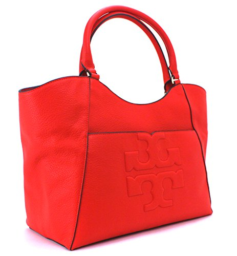 Tory Burch Bombe-T Tote (Poppy Red)