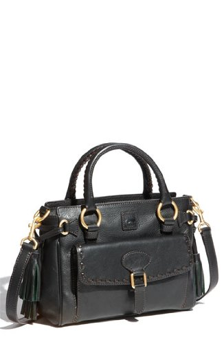 Dooney & Bourke Florentine Medium Pocket Satchel, Black/black