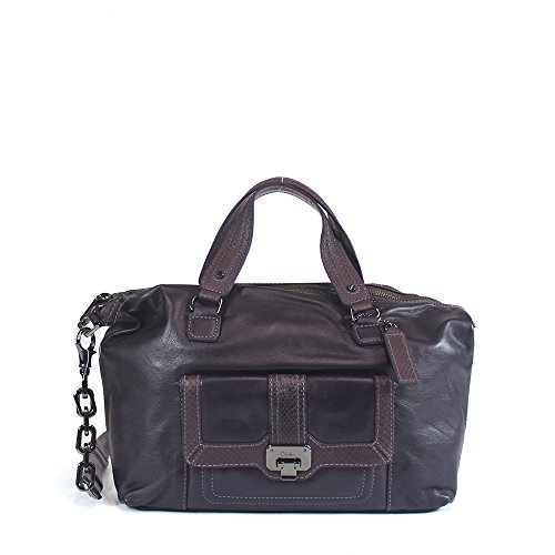 Cole Haan Valise Archer Mini Satchel, Dark Aubergine