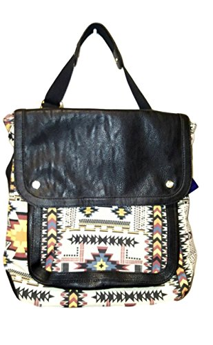 Madden Girl Aztek Convertible Backpack Messenger Bag