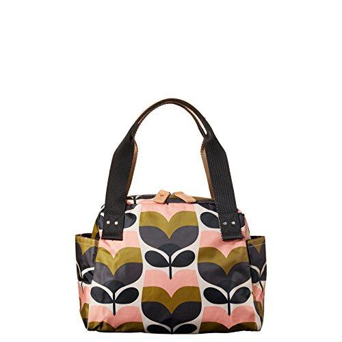 Orla Kiely Stripe Rosebud Print Zip Handbag Bag
