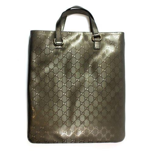Gucci Imprime Bronze Metallic Tote