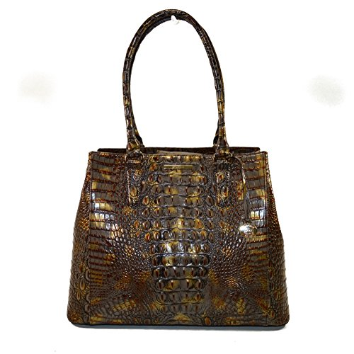 Brahmin Joan Tote Fall Tortoise Melbourne Leather N45 141 400