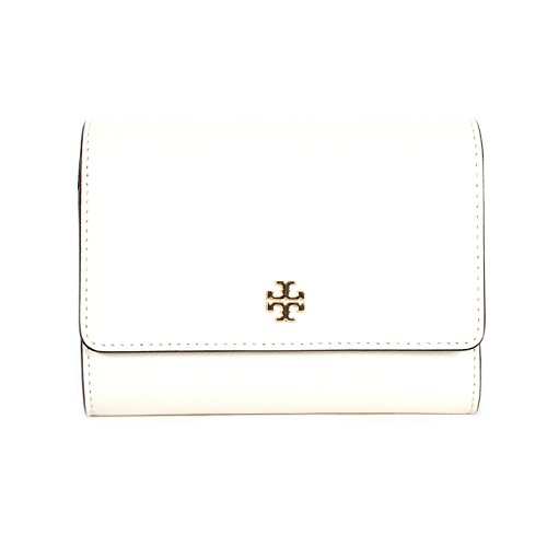 Tory Burch Medium Flap Wallet White (new Ivory)