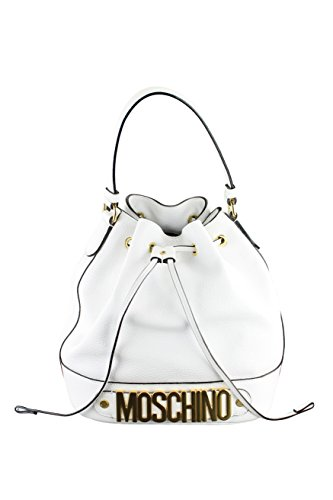 Moschino Couture Womens Bucket Bag Women Drawstring Satchel White Satchel –