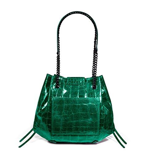 Eric Javits Designer – Luxury Women's Lil Leigh Handbag (Emerald)