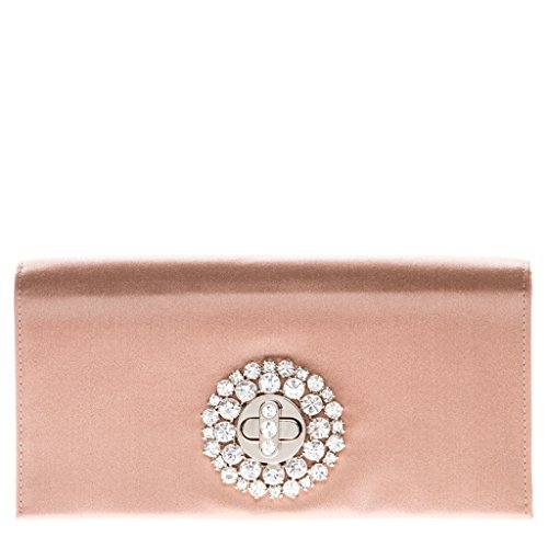 Prada Women's And Crystal Evening Bag Rose