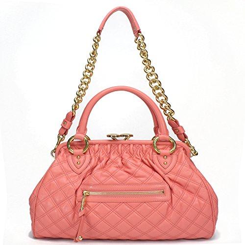 Marc Jacobs Stam Satchel Bag, Flamingo