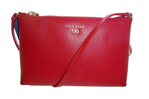 Cole Haan Juliet Leather Swing Pack Tango Red