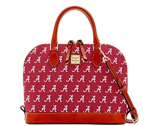 Dooney and Bourke Alabama Crimson Tide Zip Zip Satchel Handbag