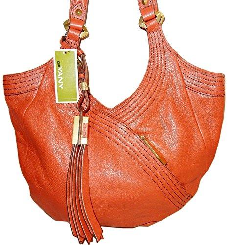 orYANY Tracy Medium Hobo Shoulder Bag Spice Leather