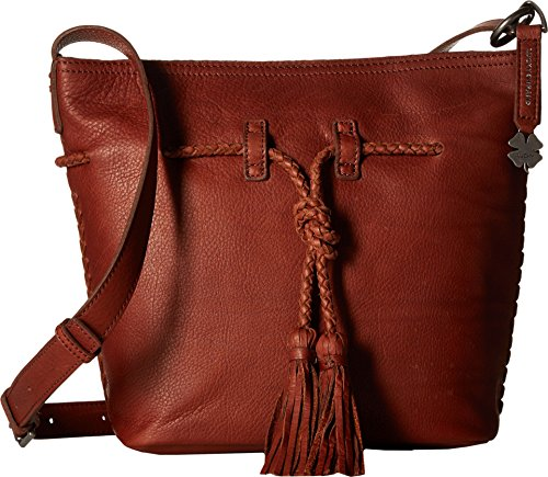 Lucky Brand Women's Shadow Crossbody Bucket Brandy Cross Body
