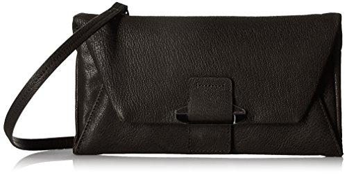 Kooba Handbags Ruby Envelop Wallet on a String, Black