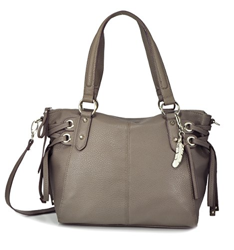 Jessica Simpson Juliette Crossbody Satchel, Slate