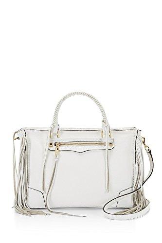 Rebecca Minkoff Leather Handbag Regan Fringe Satchel