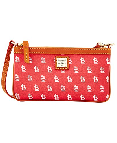 Dooney & Bourke St. Louis Cardinals Large Slim Wristlet
