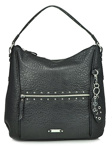 Jessica Simpson Nadine Hobo Shoulder Bag, Black
