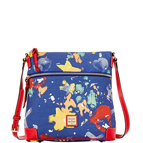 Dooney & Bourke Navy Floral Crossbody Bag Purse