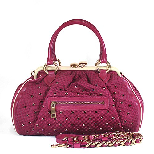 Marc Jacobs Limited Edition Stam Satchel Bag, Fuchsia