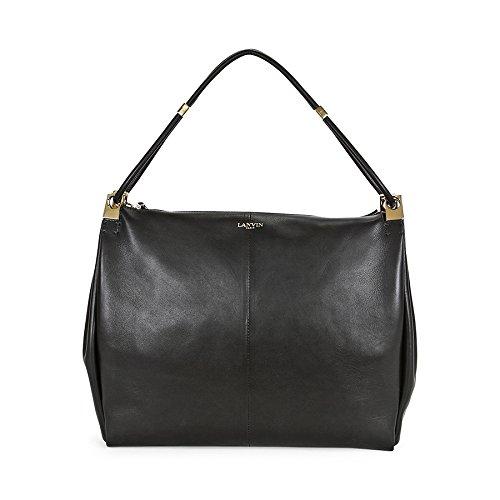 Lanvin Large Calfskin Tilda Tote Bag – Black