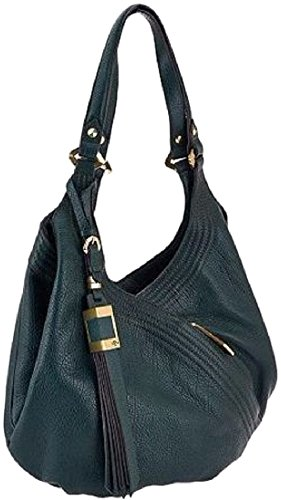 orYANY Tracy Medium Hobo Shoulder Bag Evergreen Leather