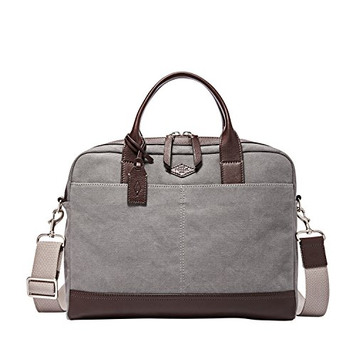 Fossil Wyatt Workbag Handbag Grey