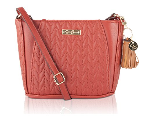 Jessica Simpson Cynthia Crossbody Bag – Russet