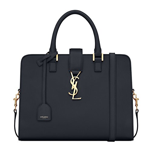 Saint Laurent Classic YSL Small Cabas Monogram Satchel Shoulder Bag 357395