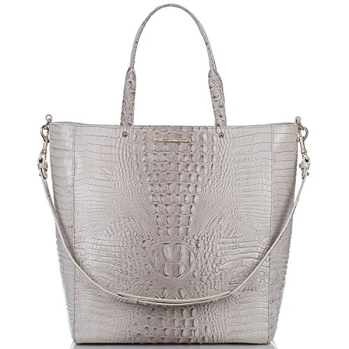 Brahmin Harrison Travel Tote Paloma Emb Leather Tote