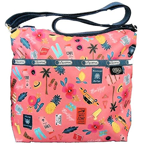 Lesportsac Small Cleo Cross-Body Handbag Tropical Voyage