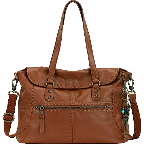 The Sak Esperato Flap Satchel (Tobacco)