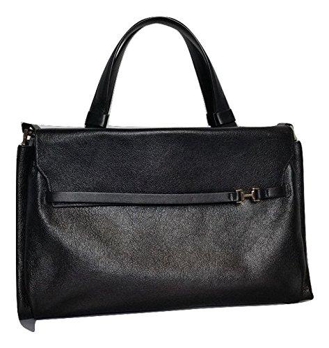 Halston Heritage Leather Satchel Shoulder Bag