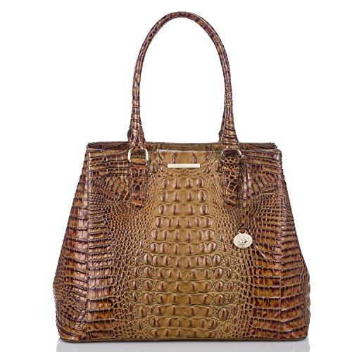 NEW AUTHENTIC BRAHMIN JOAN BAG TOTE (Toasted Almond Melbourne)