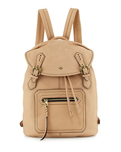 OrYANY Jaylin Leather Backpack, Almond