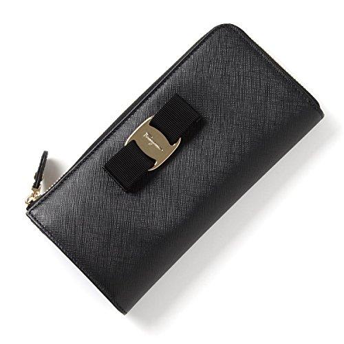 Salvatore Ferragamo SS 2016 model – Croc purse LEATHER NERO black series 22c124 588279 nero ladies