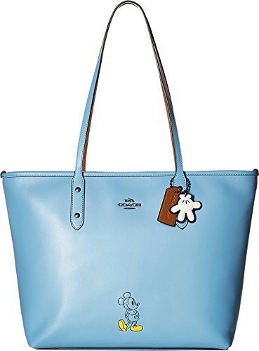 COACH Women's Mickey City Tote DK/Bluejay Tote