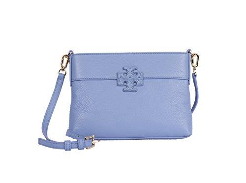 Tory Burch Women's Small Stacked T Leather Swingpack Cross Body Handbag