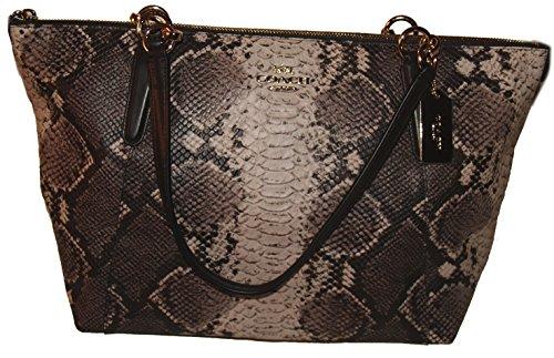 Coach Python Ava Tote Shoulder Bag