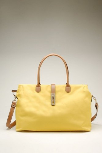 Women's Dual Strap Fashion Shoulder Handbag – Yellow
