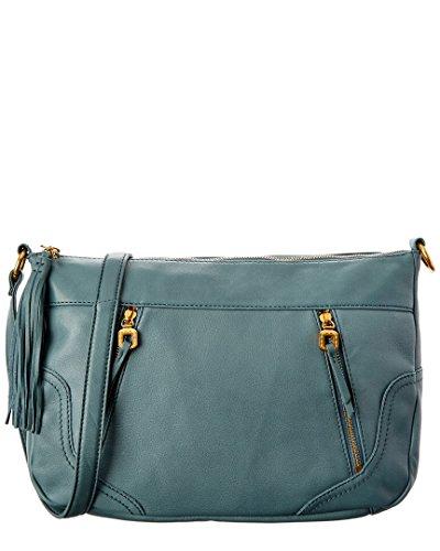 Hobo The Original Forrest Leather Crossbody Bag, Blue