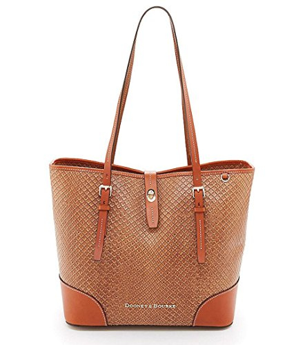 Dooney & Bourke Cordova Collection Woven Embossed Leather Dover Tote