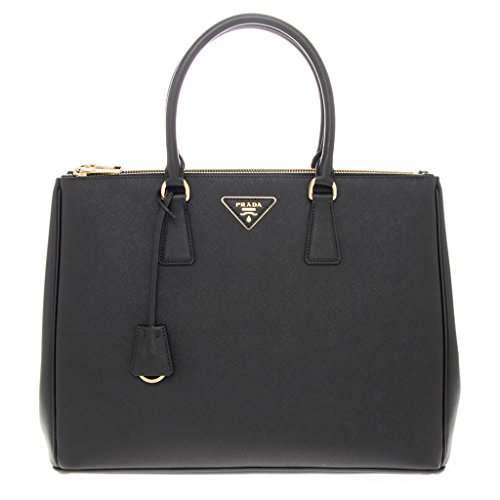 Prada Women's Saffiano Executive Tote Bag Black