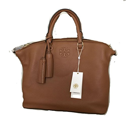 Tory Burch Thea Medium Slouchy Satchel, Bark