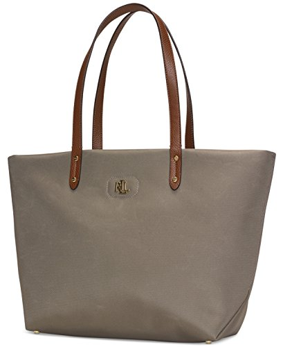 Lauren Ralph Lauren Womens Bainbridge Tote (New Khaki)