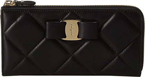 Salvatore Ferragamo Women's 22C152 Nero Clutch