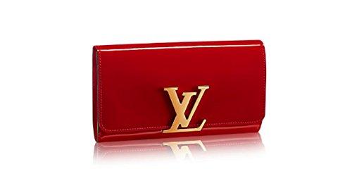 Designer Inspired LV Red Louise Handbag